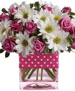 1.λουλούδια σέ Υάλινα