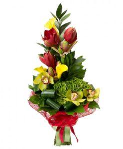1.Μπουκέτα μέ λουλούδια