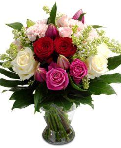 μπουκετα λουλουδιων για γιορτη