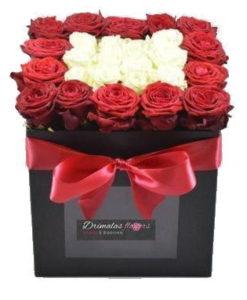 1.Λουλούδια σε κουτιά