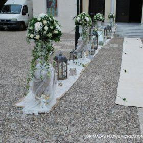 Διακόσμηση γάμου με λουλούδια