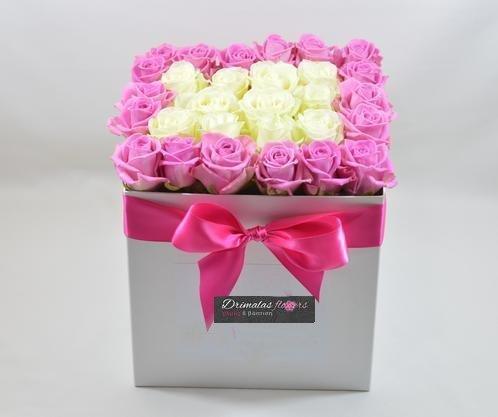 κουτι με τριανταφυλλα