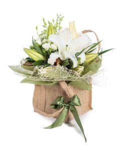 Καλαθια λουλουδιων Αθηνα
