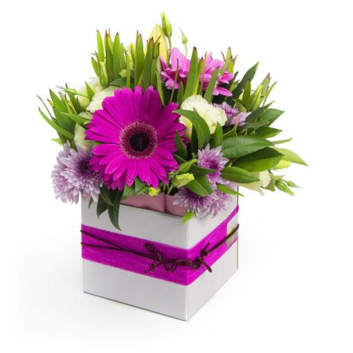 λουλούδια σέ κουτιά