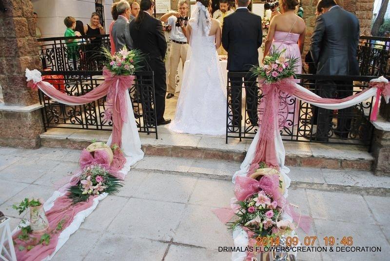 c699e8f905f8 Στολισμός γάμου σάπιο μήλο - Ανθοπωλεια Δριμάλας