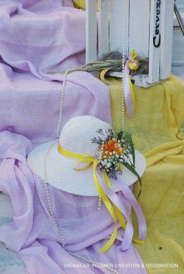 Στολισμός βάπτισης θέμα καπέλα ,Stolismos Vaptisis,Vintage στολισμοί βάπτισης προσφορές βάπτιση,Διακόσμηση βαπτισης,baptism decoration,Vaptisi