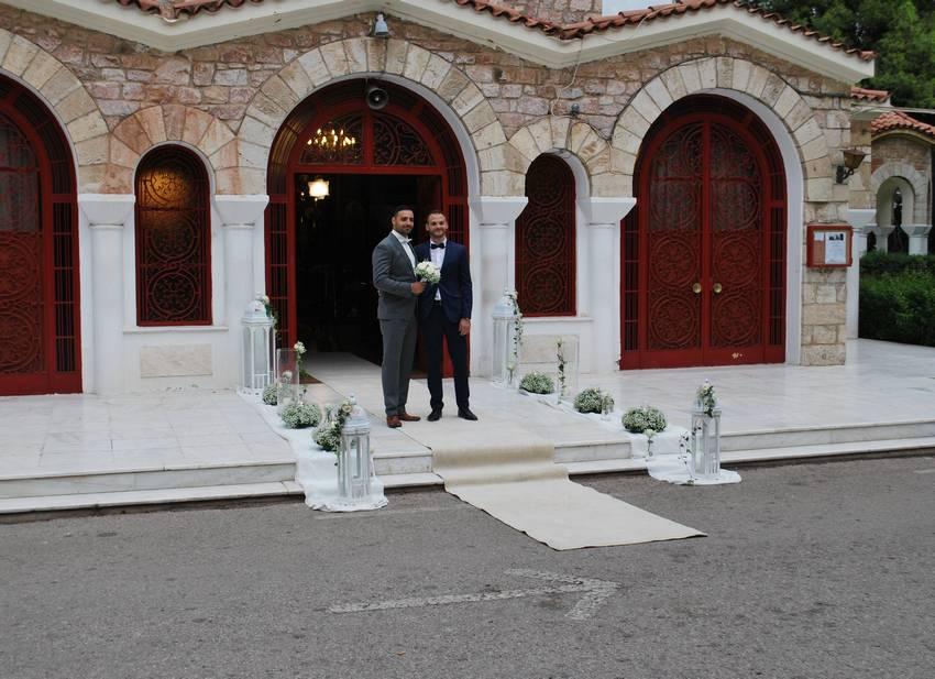 bf586e9871d1 Γάμος στον Άγιο Δημήτριο Ψυχικού - Ανθοπωλεια Δριμάλας