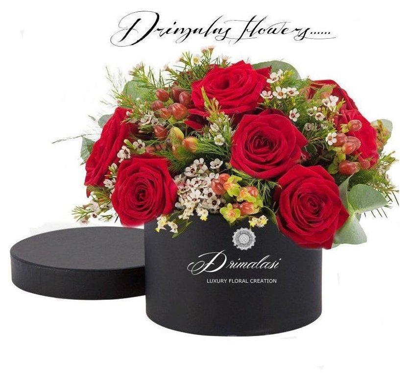 Λουλούδια σε κουτιά - Αποστολή λουλουδιών