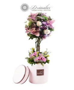 Λουλουδια online, Τριανταφυλλο σε γυαλι, Αποστολη λουλουδιων Αθηνα