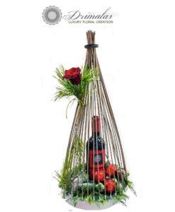 Καλάθια Δώρων Με Ποτά & Κρασιά