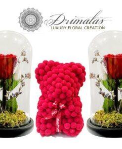 Eternity roses, Forever roses, Τριαντάφυλλα μεγάλης διάρκειας, Τριαντάφυλλα που ζουν για πάντα, Τριανταφυλλα σε γυάλα Τριαντάφυλλα σε κουτί