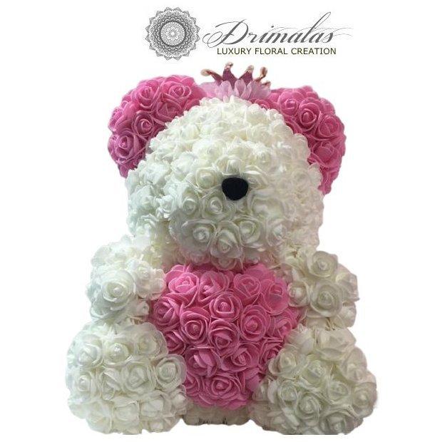 Αρκουδάκια απο Τριαντάφυλλα ,Rose Bear,online ανθοπωλείο