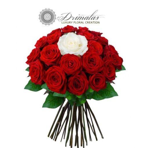 Ανθοδέσμη με Κόκκινα Τριαντάφυλλα,Μπουκετο τριανταφυλλα τιμη,Τριανταφυλλο σε γυαλα τιμη