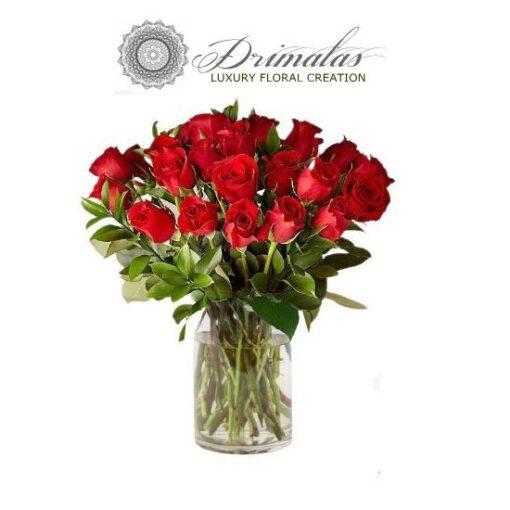 μπουκέτα λουλουδιών, λουλούδια σε κουτί, μπουκέτα σε βάζο, τριαντάφυλλα που ζουν για πάντα, Ανθοπωλειο Αθηνα