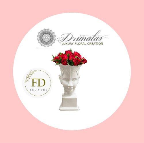 Λουλούδια σε κουτί, Τριαντάφυλλα σε κουτί στη αθηνα