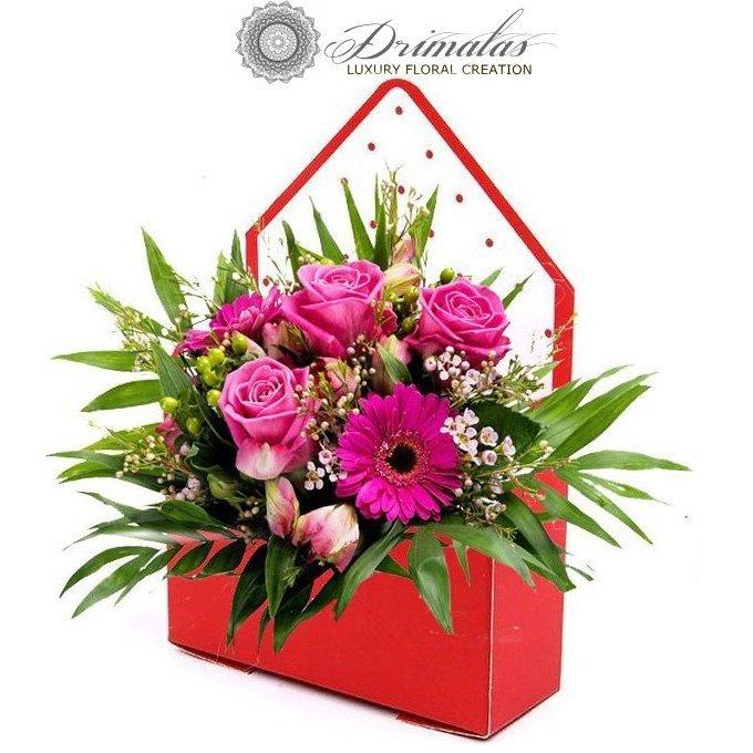 Κόκκινα Τριαντάφυλλα σε κουτί , Κουτί με Τριαντάφυλλα